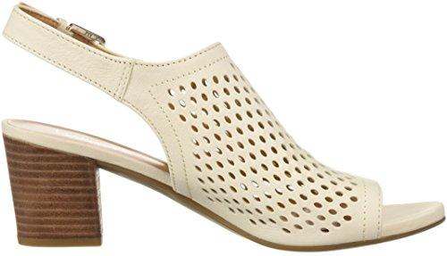 Dress L Taupe Milk MONACO2 Women's 5 Medium Sarto Sandal Franco Suede xYPq7Inw