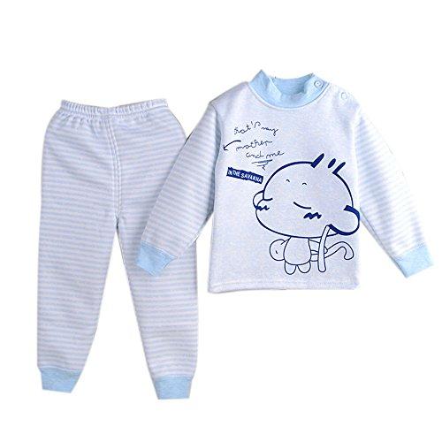 Yaheeda Kid's Autumn Cotton Long Sleeve Pajamas Top and Pants Sets -
