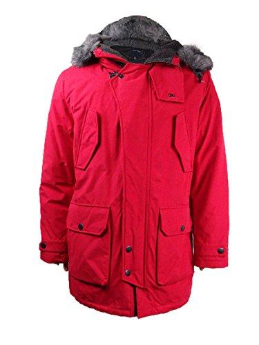 Nautica Down Outerwear Nautica Men's Red Coat vvr14x8