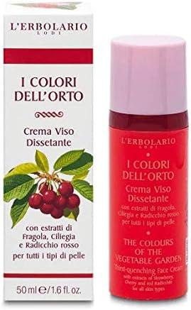 Crema Viso Dissetante I Colori dell'Orto Rosso 50 ml