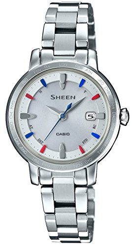 CASIO watch SHEEN world six stations corresponding Solar radio SHW-1900BD-7AJF for Women