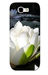 [xHFSSLF1484HTrfb]premium Phone Case For Galaxy Note 2/ Water Lilly Tpu Case Cover(best Gift Choice)