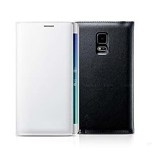 GX cuero de la PU de auto-suspensión inteligente con ranura para tarjeta para samsung galaxy note n9150 borde (colores surtidos) , Black