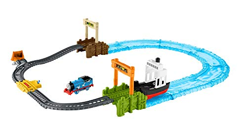 Fisher-Price Thomas & Friends TrackMaster, Boat & Sea Set (Thomas The Train Trackmaster Sets)