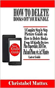 How to remove books from kindle fire