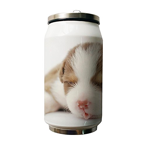 Kdnsgfds Cute Baby Dog Animal Design Double Vacuum Insulated