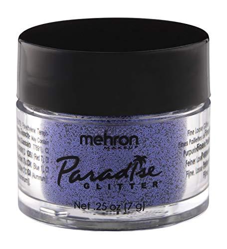 Mehron Makeup Paradise AQ Glitter (0.25 oz) (PURPLE)