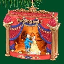 Carlton Heirloom The King & I Musical Christmas Ornament #CXOR-098N