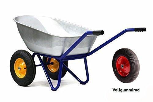 Kelberg 2-Rad Schubkarre mit PU Vollgummiräder AGRO 150L-2