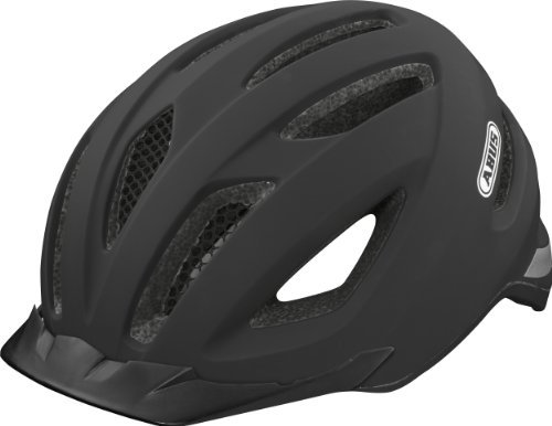 [해외] ABUS전동 어시스트 자전거 싸이클 헬멧 벨벳 블랙 사이즈: M by ABUS