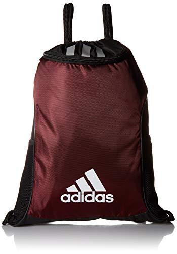 adidas Team Issue Ii Sackpack, Light Maroon, One Size ()