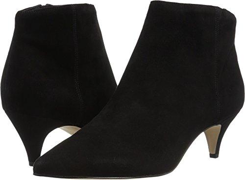 Sam Edelman Women's Kinzey Fashion Boot, Black Suede, 7 M US