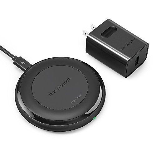 RAVPower 7.5W for iPhone Fast Wireless Charger (Certified Refurbished) by RAVPower