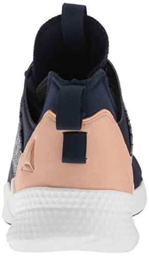 Collegiate Navy 1 Shoes Dance Veg Women's Pilox White 0 Tan Reebok 0Z1Y4O