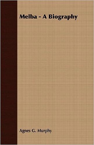 Book Melba - A Biography by Agnes G. Murphy (2007-03-15)