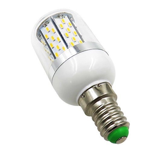 Pack 2,E14 LED Light Bulb 12V-24V AC/DC 3.5W 380 Lumen 78PCS 3014 SMD Explosion proof Candle Bulb Daylight Light Reading light Table Lamp Daylight White 6000K