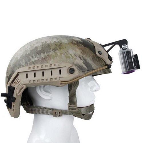 Envio 24h Militar-TLD Soporte para c/ámara Monte NVG juego con casco t/áctico para camara Gopro-Hero-NVG-Base-de-montaje