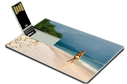 luxlady-8gb-usb-flash-drive-20-memory-stick-credit-card-size-young-woman-standing-at-the-beach-looki