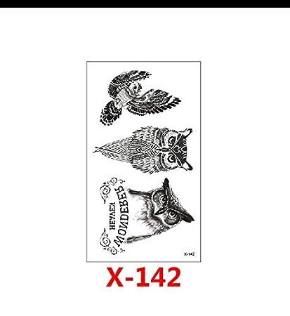 LFVGUIOP Tatuajes temporales -Impermeable Tatuajes temporales ...