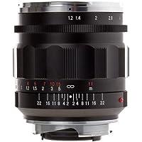 Voigtlander Nokton 35mm f/1.2 II Aspherical Wide Angle Leica M Mount Lens - Black