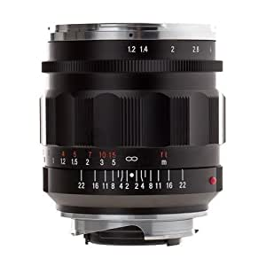 Voigtlander Nokton 35mm f/1.2 II Aspherical Wide Angle Leica M Mount Lens - Black