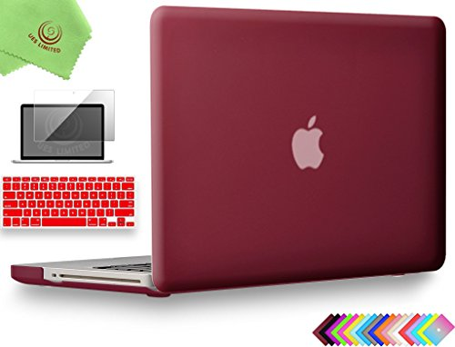 (UESWILL 3in1 Smooth Soft-Touch Matte Hard Shell Case Cover for MacBook Pro 15