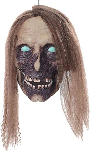 Morris Costumes Undead Cathy Hanging Head Halloween Prop Haunted House Yard Scary Garden Decor -