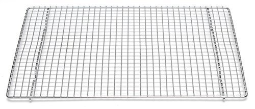 Professional Cross Wire Cooling Rack Half Sheet Pan Grate - 16-1/2