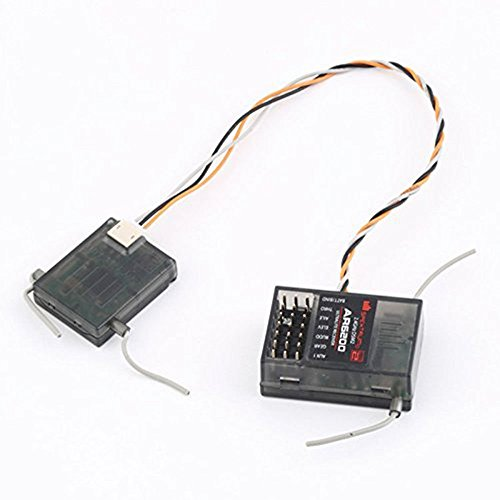 Spektrum AR6200 2.4G 6Ch Receiver for DX6i JR DX7 DSM2 by U&L