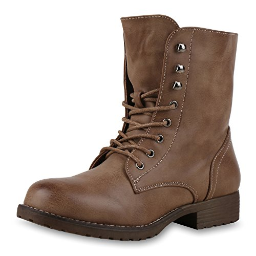 Best-boots - Botas para mujer Hellbraun Stagione Nuovo