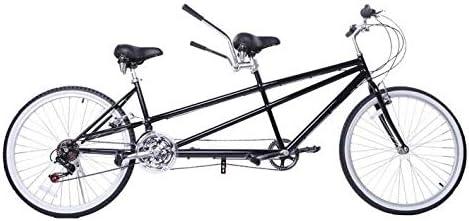 SYLTL Bicicleta Tándem Montar Padre-Hijo Doble Pareja Doble Paseo ...