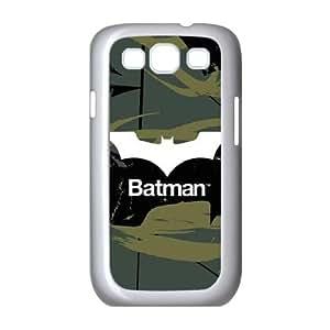 Batman Bat Logo Green & Black Samsung Galaxy S3 9300 Cell Phone Case White Exquisite gift (SA_570711)