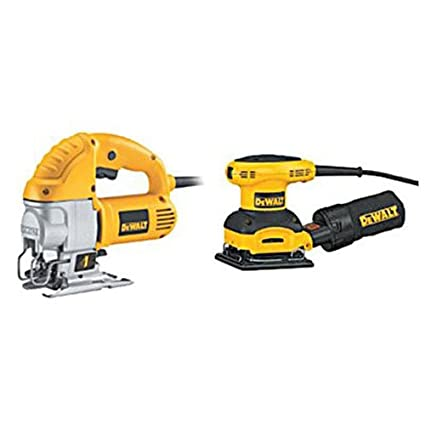 Dewalt dw317sa corded jig saw and sheet sander combo kit amazon dewalt dw317sa corded jig saw and sheet sander combo kit greentooth Images