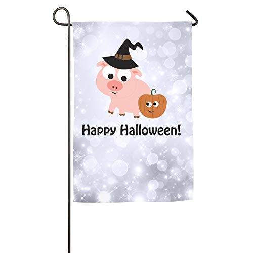 (Shenigon Happy Halloween Pig Witch Home Family Party Flag 100 Hipster Welcomes The Banner Garden)