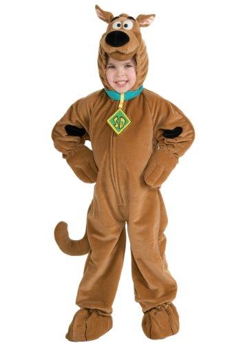 Scooby - Doo Child's Deluxe Scooby Costume, (Child Daphne Halloween Costumes)