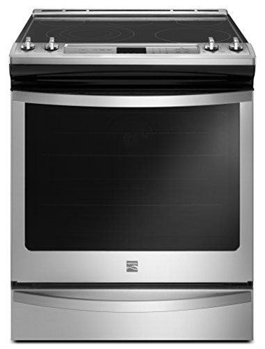 Kenmore 95123 6.4 cu. ft. Front Control Electric Range in Stainless Steel, includes delivery and hookup