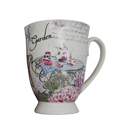 Saucer Cup Flower (Excelity Royal Bone china Teacup Coffee Cup and Saucer with Gift Box (Flower))