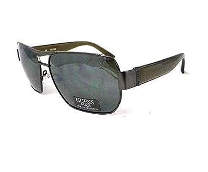 Gu Homme Soleil Vert Pour 6670 2f De Gun Guess Étui Lunettes Aachen Yybf76g