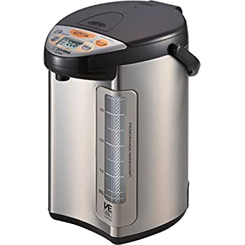 Image of Zojirushi America Corporation CV-DCC40XT Hybrid Water Boiler And Warmer, 4-Liter, Stainless Dark Brown Home and Kitchen