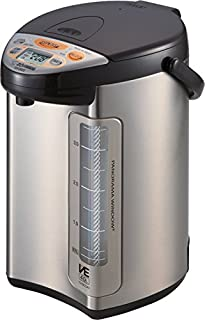 ZOJI Zojirushi America Corporation CV-DCC40XT VE Hybrid Water Boiler and Warmer, 4-Liter, Stainless Dark Brown (B00R4HKIV8) | Amazon Products