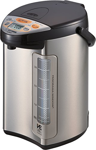Zojirushi 586361-CV-DCC40XT America Corporation Ve Hybrid Water Boiler And Warmer, 4-Liter, Stainless Dark Brown (Dispenser Tiger Hot Water)