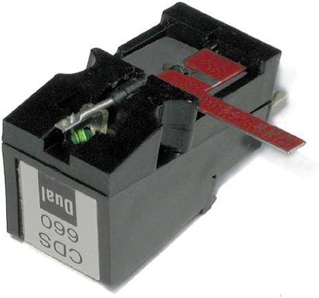 CD 660 Pastilla para Tocadiscos Dual – Réplica de (33 de RPM ...