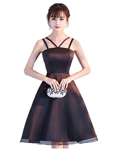 陸軍等価印刷するドレスワンピース ブラックイブニングドレス フェミニンパーティー レディース ウエディングドレス パーティードレス ウェディングドレス