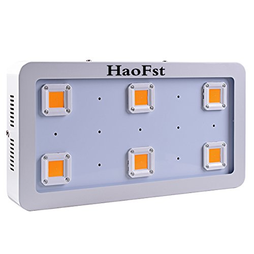 1800W LED Grow Light,X6 Sunshine Full Spectrum Grow Light for Greenhouse and Indoor Plant Flowering Growing(White) by HaoFst