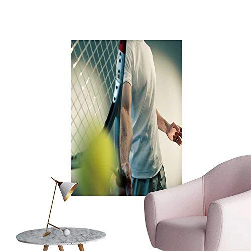 "SeptSonne Wall Decals Tennis Series Environmental Protection Vinyl,20"" W x 32"" L"