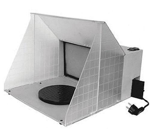 (Paasche HSSB-16-13 Hobby Spray Booth, 16-Inch Wide by 13-Inch High (HB-16-13))