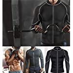 Chumian-Sauna-Dimagrante-Uomo-Neoprene-Fitness-Manica-Lunga-T-Shirt-per-Sudorazione-Sauna-Sudore-Canotta-Dimagrimento-Body-Shaper