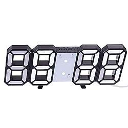 Wall Clocks 3d Large Led Digital Wall Clock Date Time Display Table Desktop Clocks Alarm Clock From Living Room