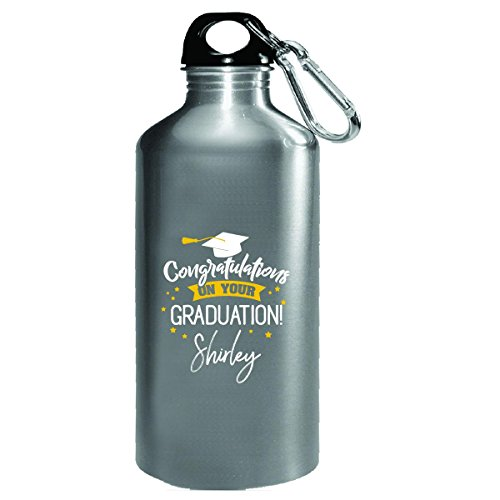 Personalized Graduation Gift Shirley Girl Women Name - Water Bottle - Shirley Ladies Tee