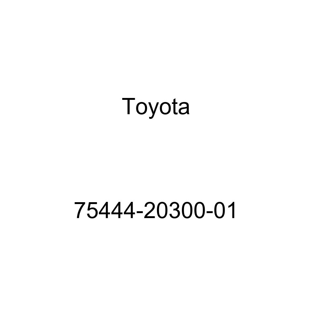 TOYOTA 75444-20300-01 Name Plate